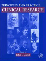 Principals and Practice of Clinical Research